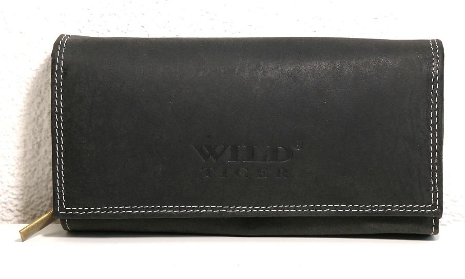 Peněženka Wild Tiger černá XL