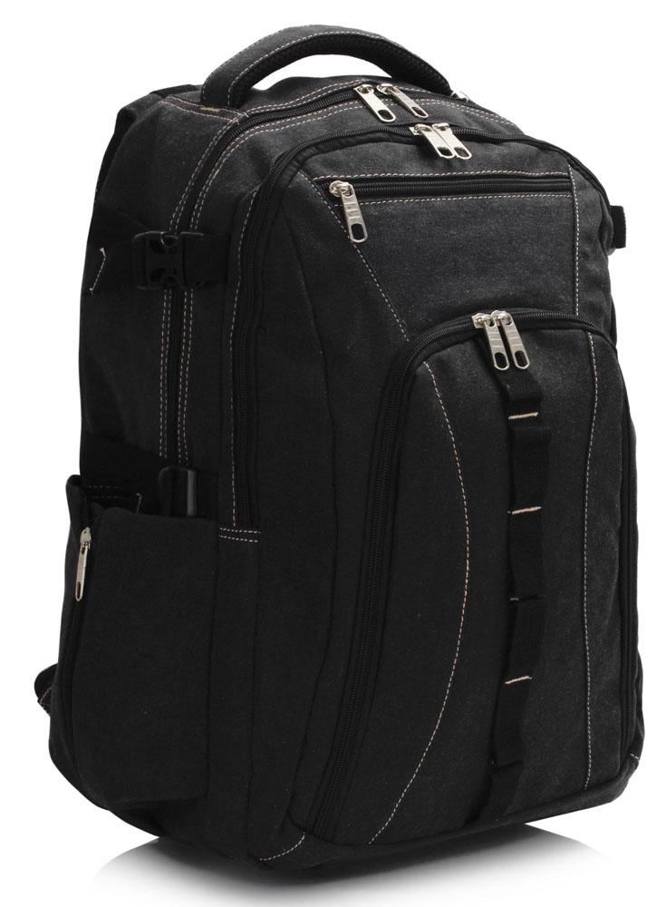 Černý batoh LS00444 s obsahem cca. 30l