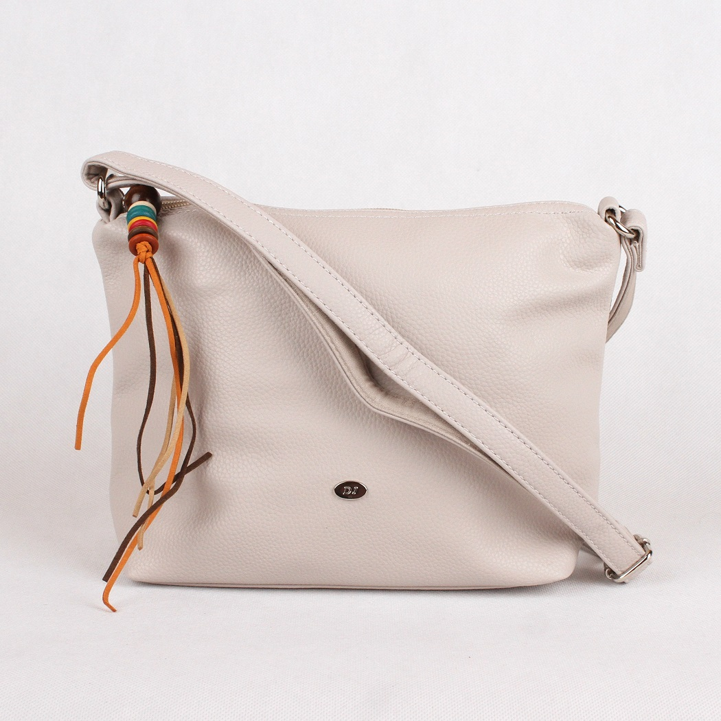 Šedá crossbody kabelka David Jones CM3404