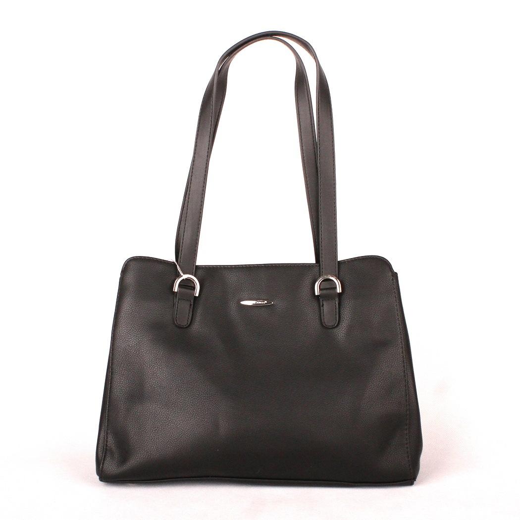VADA po reklamaci - Velká černá kabelka na rameno David Jones CM3589 empty 8e19c83d2a