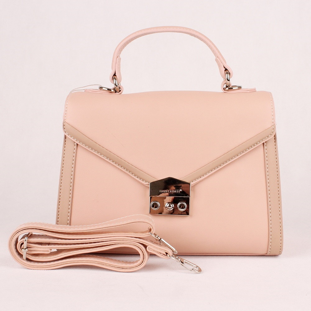 b17ab3c89d VADA - Růžová pevná kabelka (aktovka) do ruky či na rameno David Jones 5947  empty