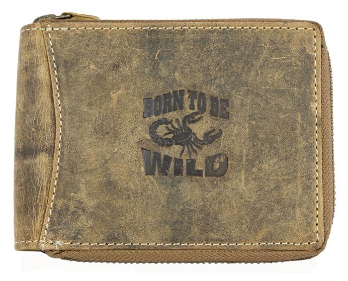 Peněženka Wild hnědá