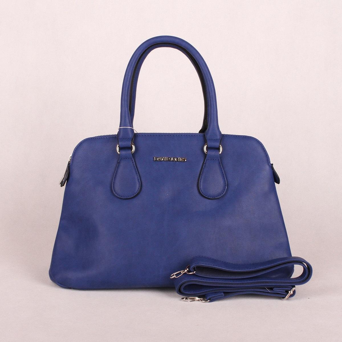 Modrá kabelka do ruky David Jones CM3001
