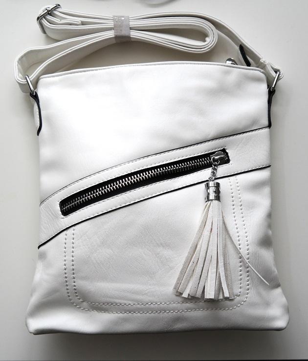 Crossbody kabelka ROMINA & CO MJ55 bílá