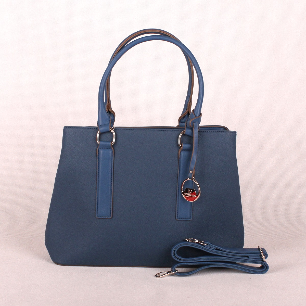 Modrá kabelka do ruky David Jones CM3066