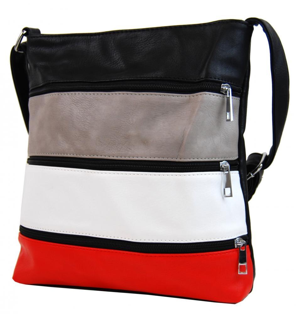 Crossbody kabelka H0438 černá