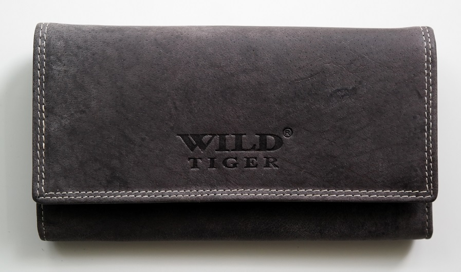 Peněženka Wild Tiger tmavěšedá