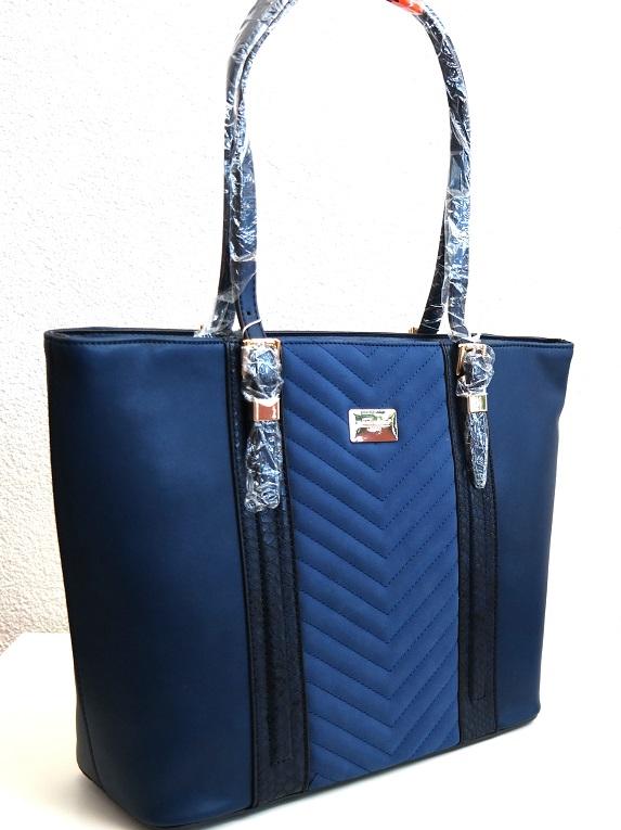 Kabelka David Jones 5215-3 modrá