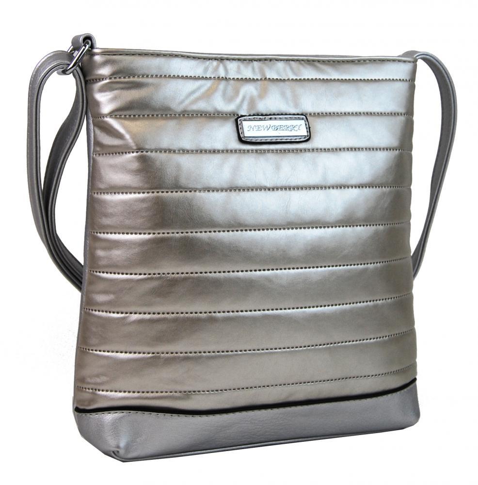 Crossbody kabelka YH1601 stříbrná