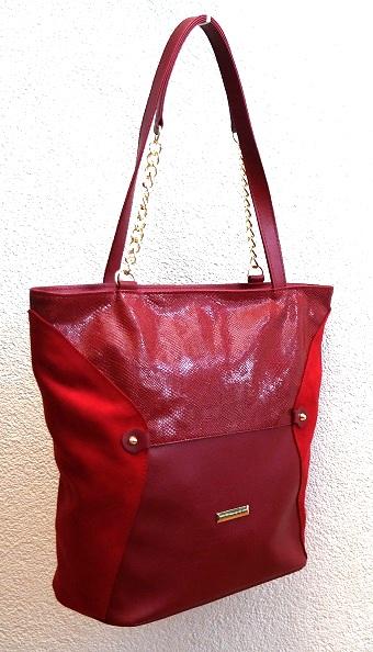 Kabelka Grosso V/Z16 červená