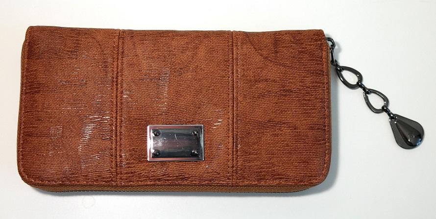 Hnědá dámská peněženka ROMINA&CO A32