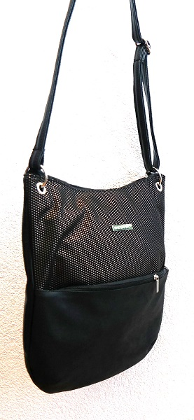 Crossbody kabelka Grosso C1 černá