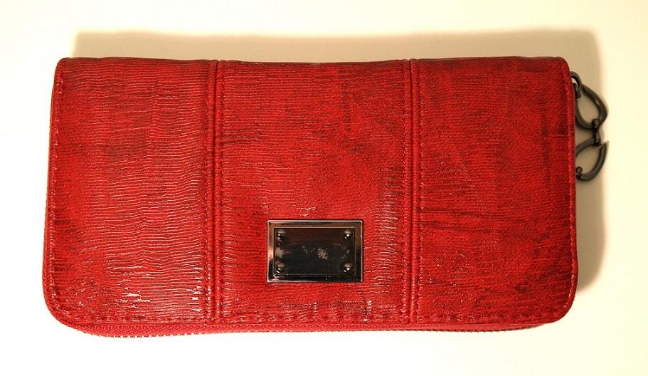 Červená dámská peněženka ROMINA&CO A32