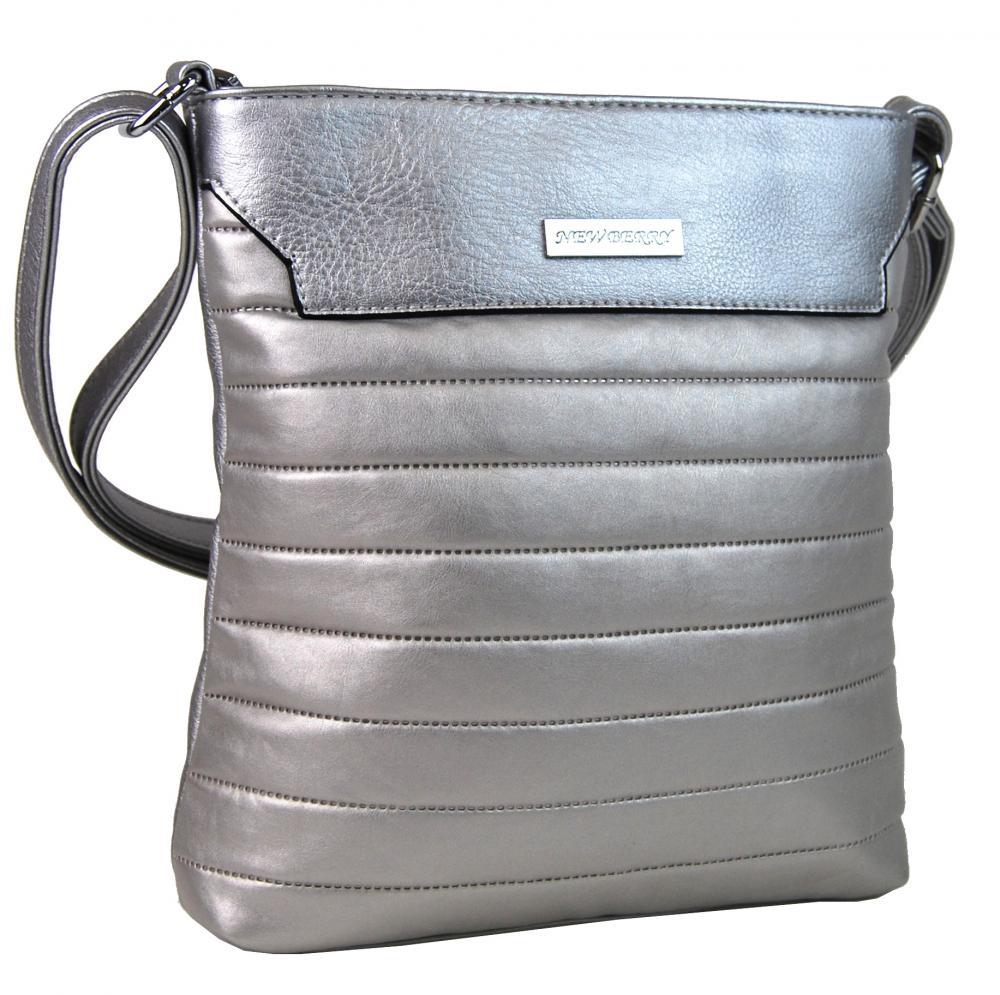 Crossbody kabelka YH1603 stříbrná