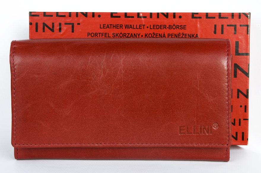 Peněženka ELLNI červená
