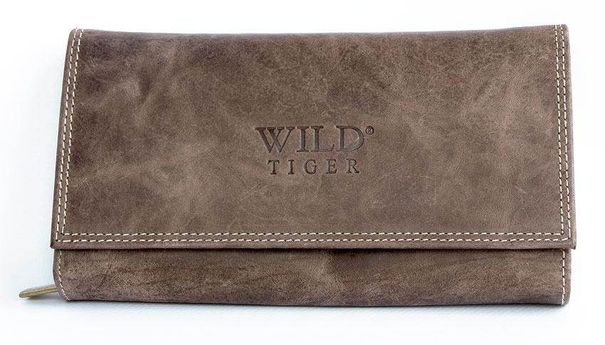 Peněženka Wild Tiger hnědá