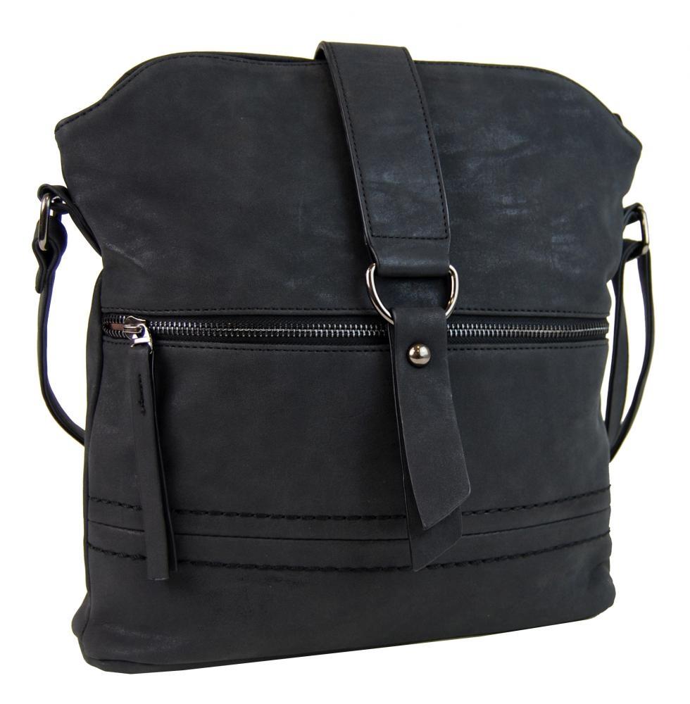 Crossbody kabelka 16040 černá