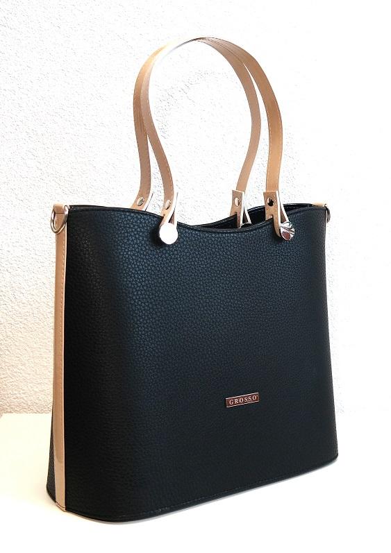Kabelka Grosso 7009/02 černá