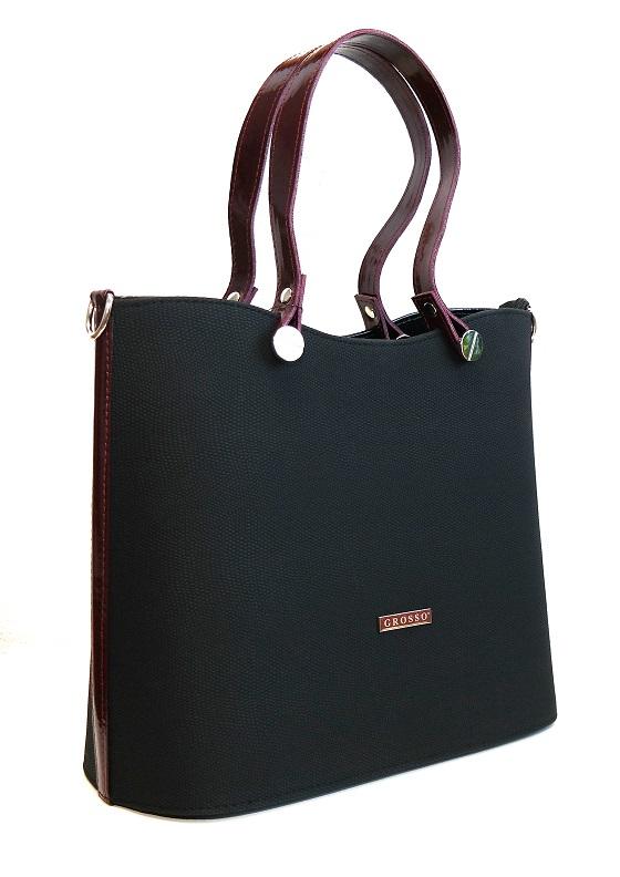 Kabelka Grosso 7009/01 černá