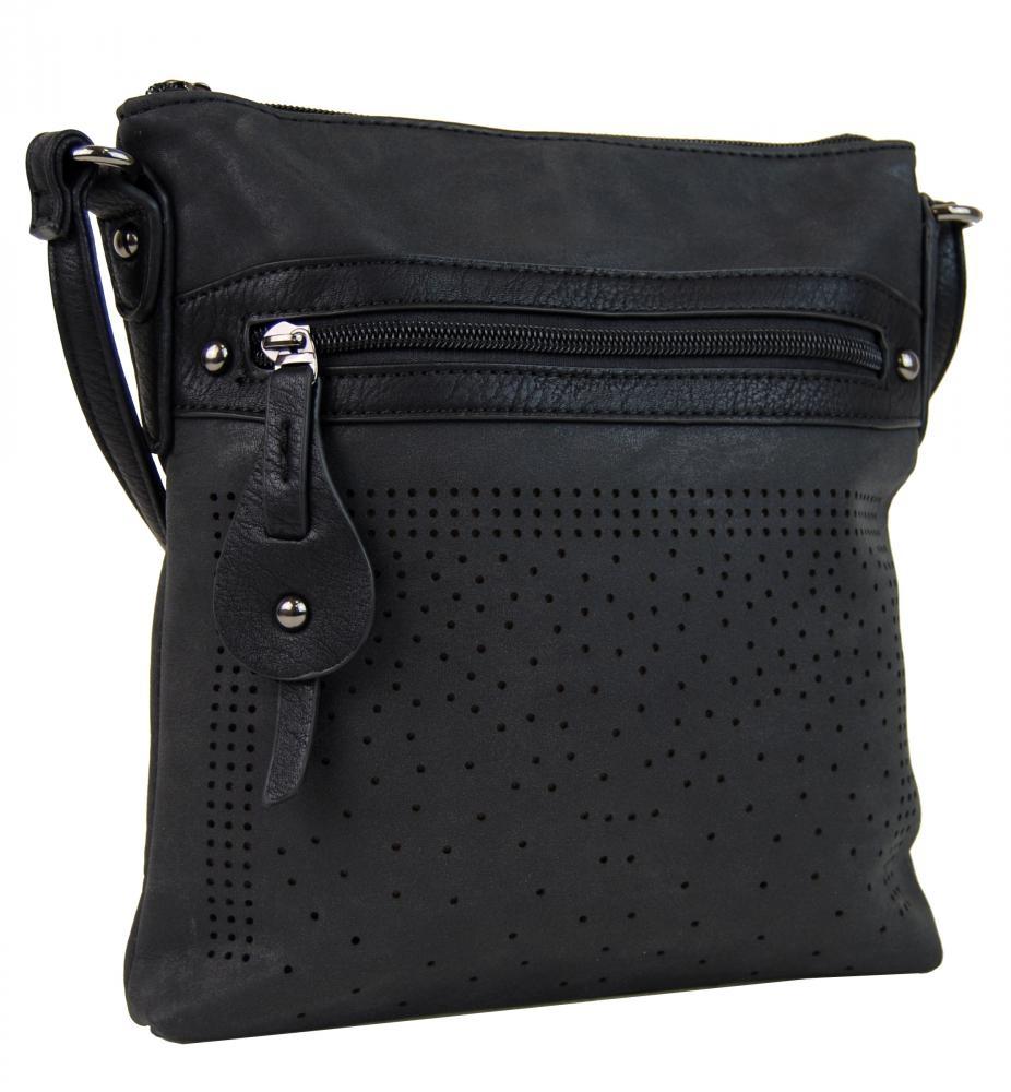 Crossbody kabelka 16088 černá