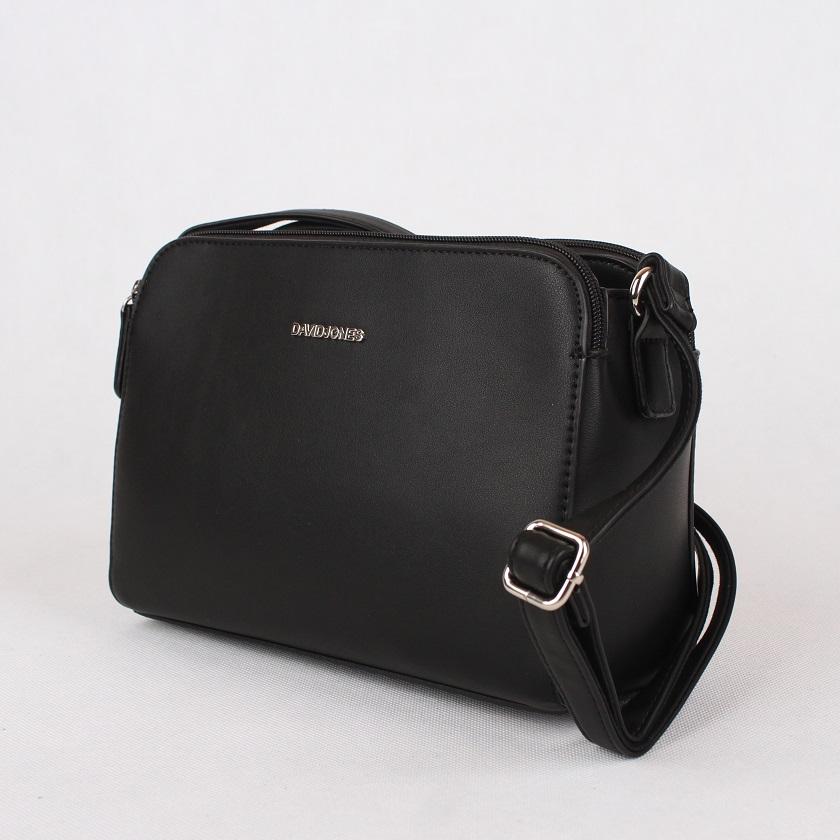Crossbody kabelka David Jones CM3348 černá