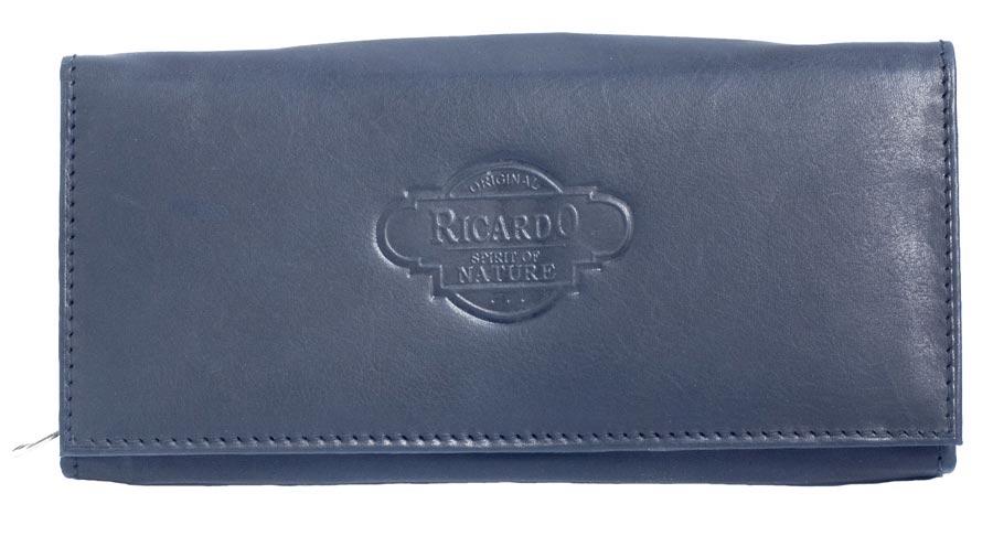 Černá dámská kožená peněženka Ricardo