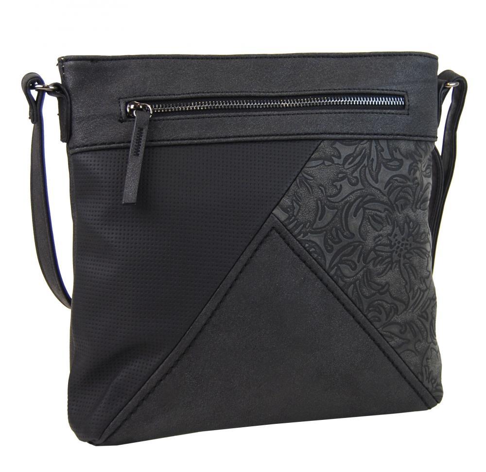 Crossbody kabelka H16202 černá