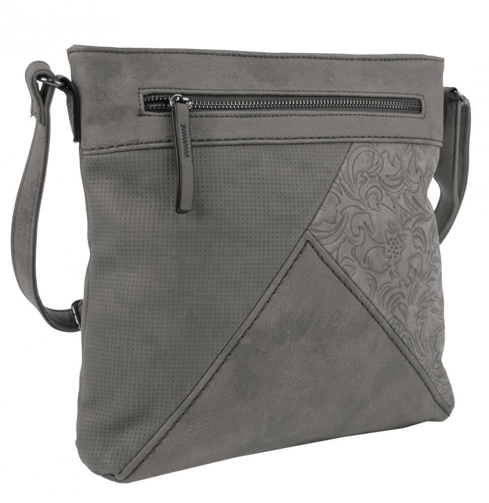 Crossbody kabelka H16202 šedá