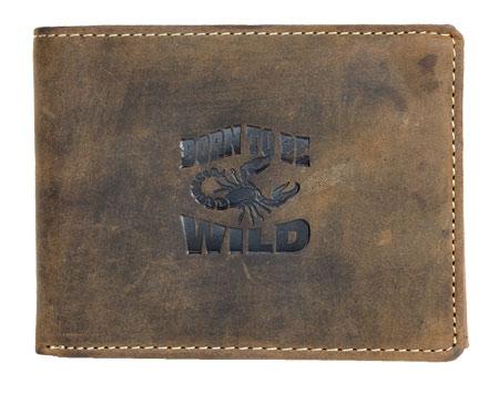 Peněženka Alwas Wild hnědá