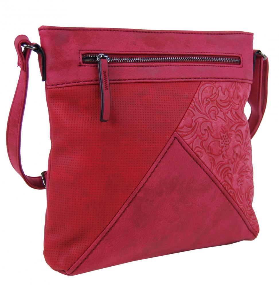 Crossbody kabelka H16202 červená