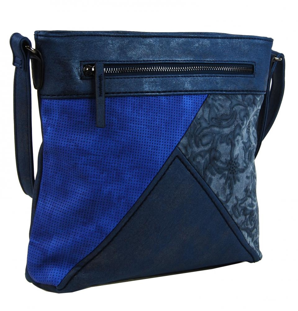 Crossbody kabelka H16202 modrá