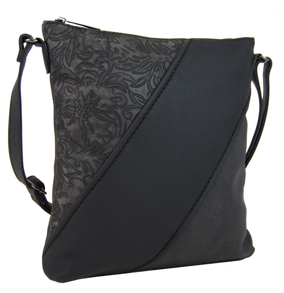 Crossbody kabelka H16201 černá