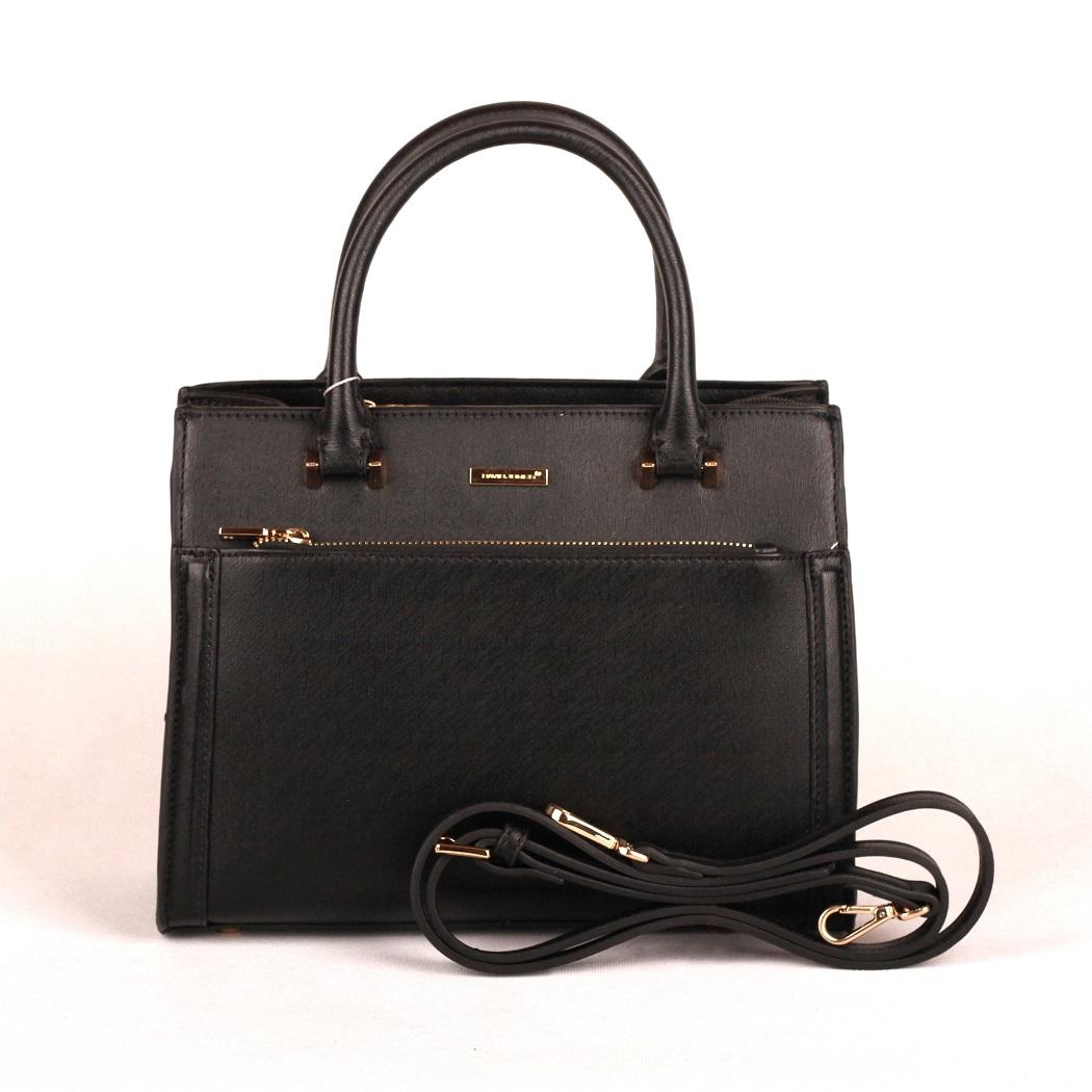 Černá kabelka do ruky David Jones CM3097