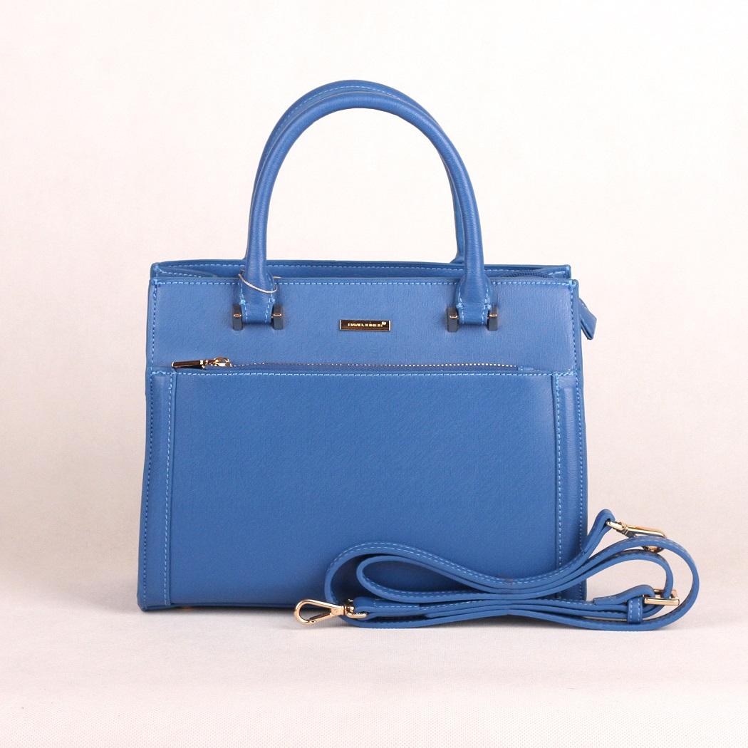 Modrá kabelka do ruky David Jones CM3097