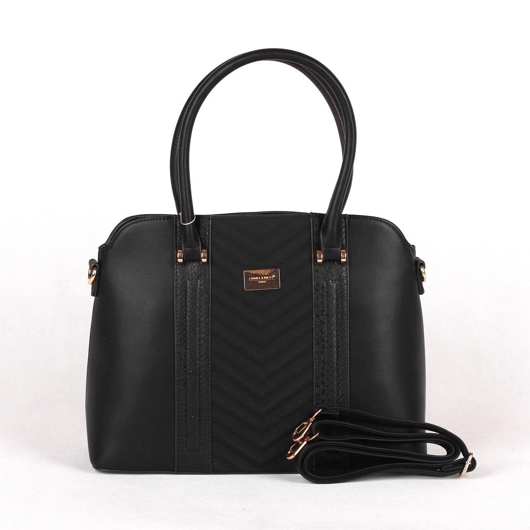 Černá kabelka do ruky David Jones 5215-2