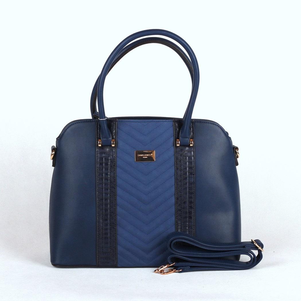 Modrá kabelka do ruky David Jones 5215-2