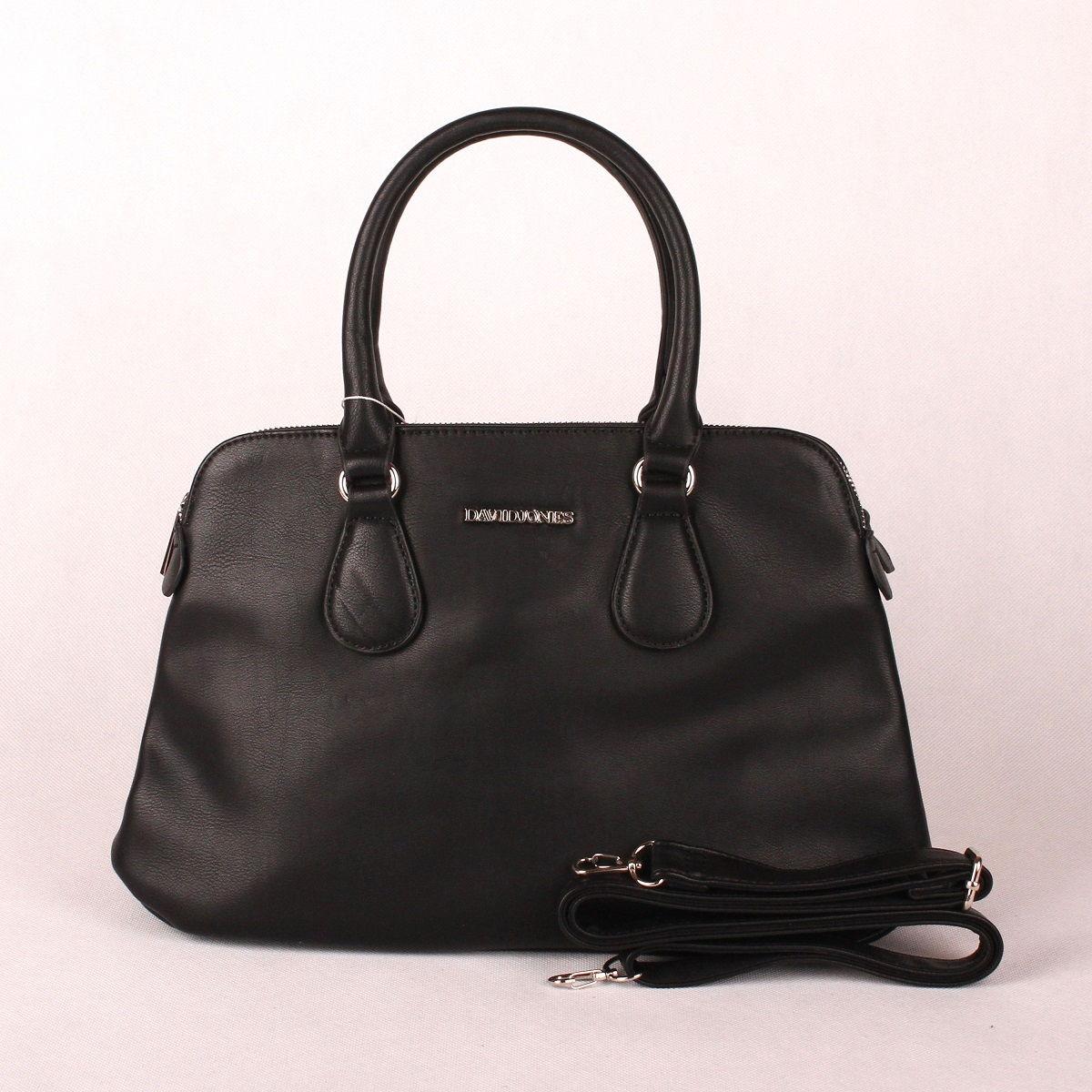 Černá kabelka do ruky David Jones CM3001