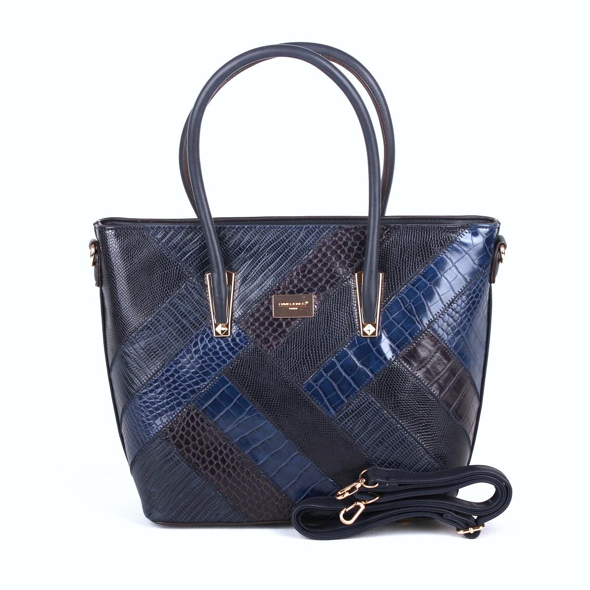 Modrá kabelka do ruky David Jones 5206-5