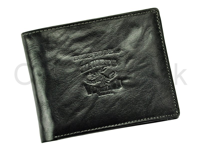 Černá pánská kožená peněženka Always Wild N992-BC