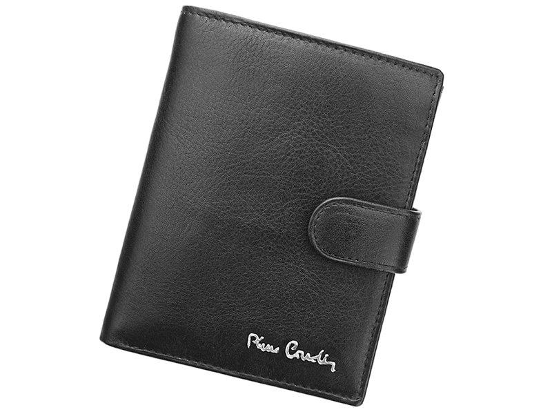 Černá pánská kožená peněženka Pierre Cardin Tilak06.326A