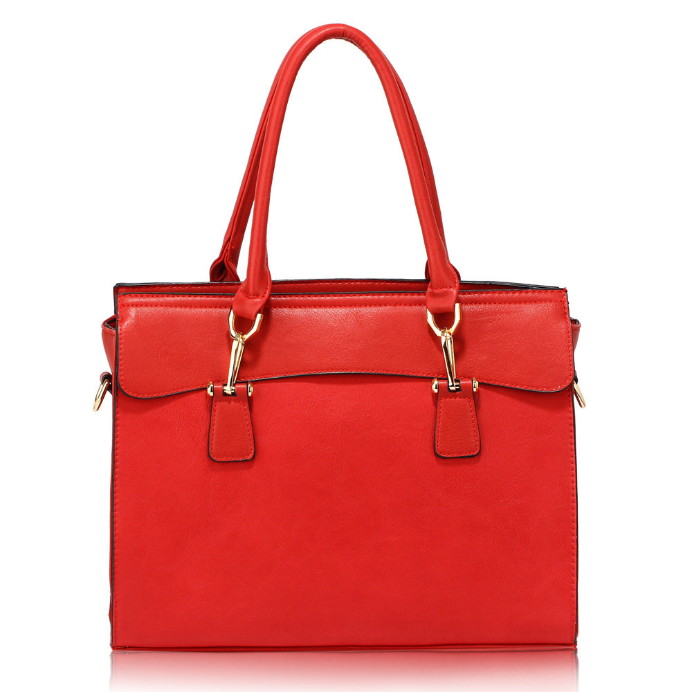 Červená kabelka do ruky AG00342