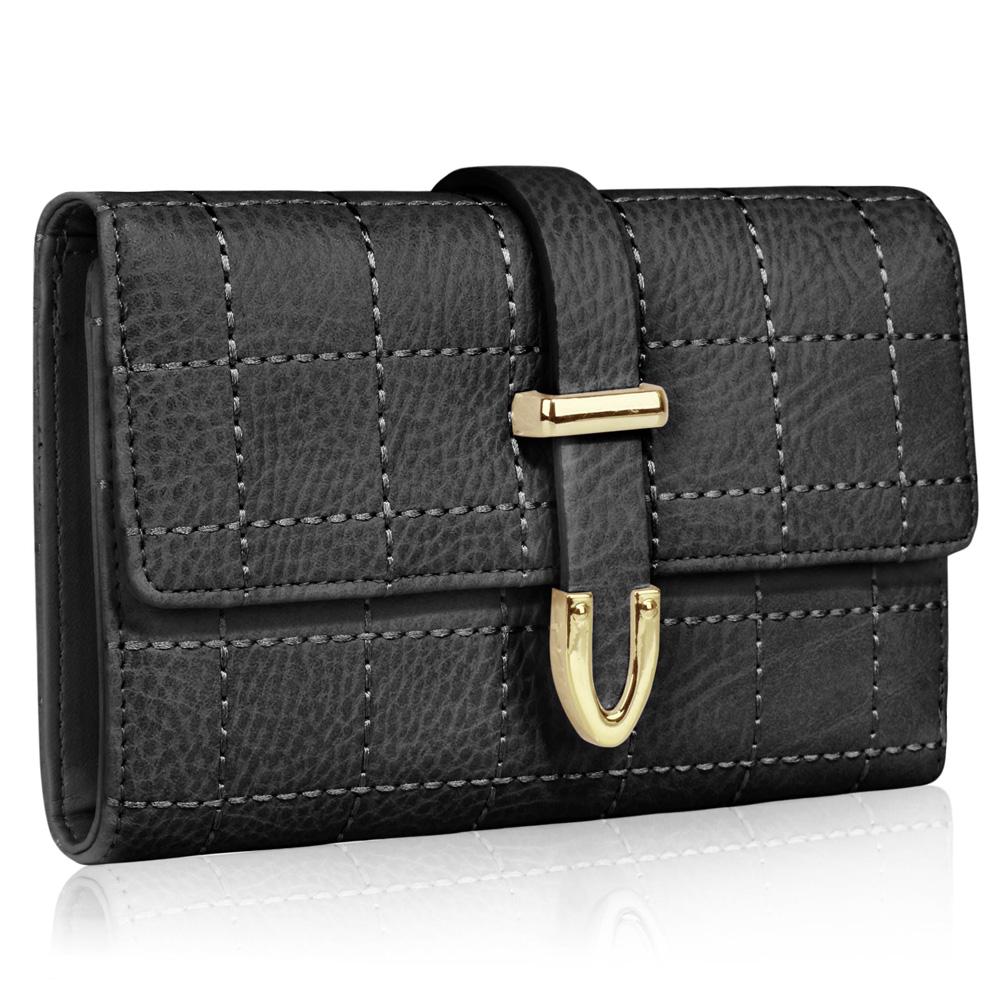 Černá levná peněženka LSP1075A