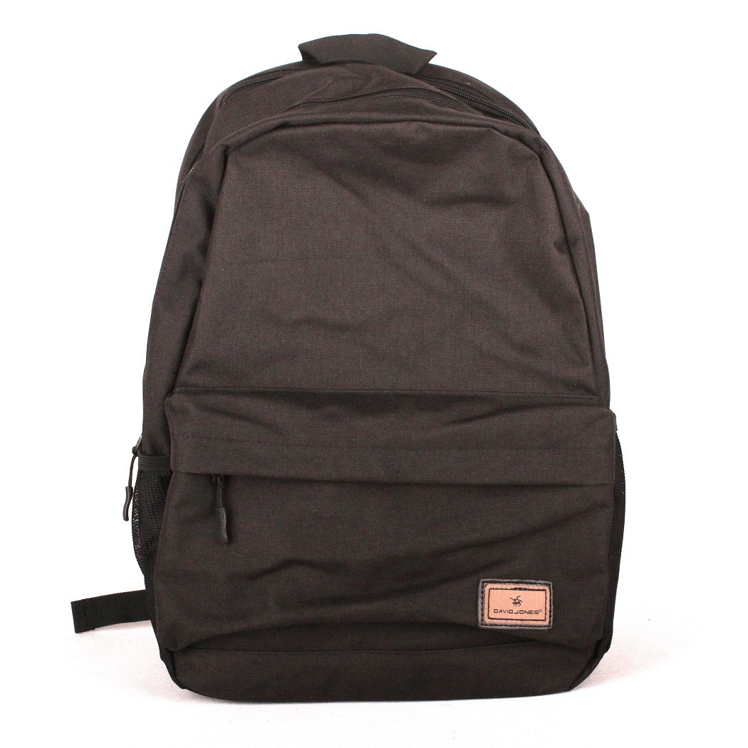 Černý volnočasový batoh David Jones PC-023 s obsahem cca. 22l