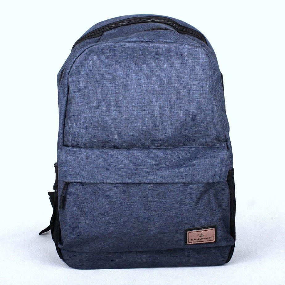 Modrý volnočasový batoh David Jones PC-023 s obsahem cca. 22l