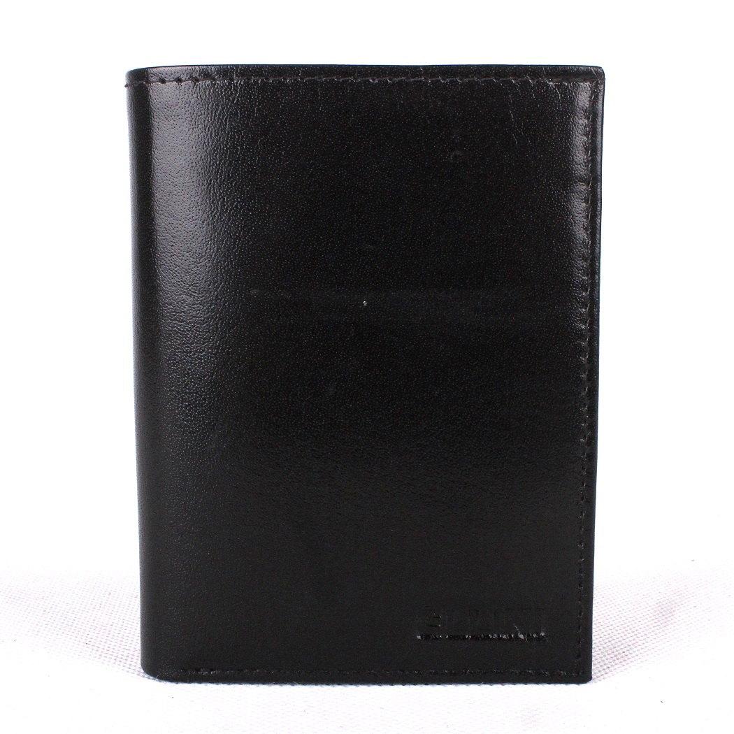 Černá kožená peněženka ELLINI (TM-51-034)