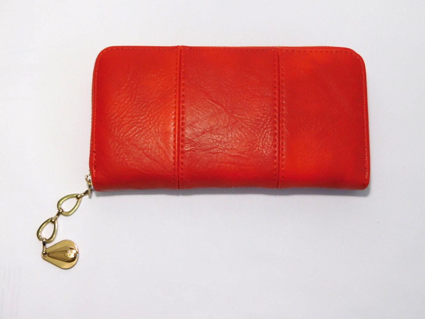 Červená dámská peněženka ROMINA&CO A170