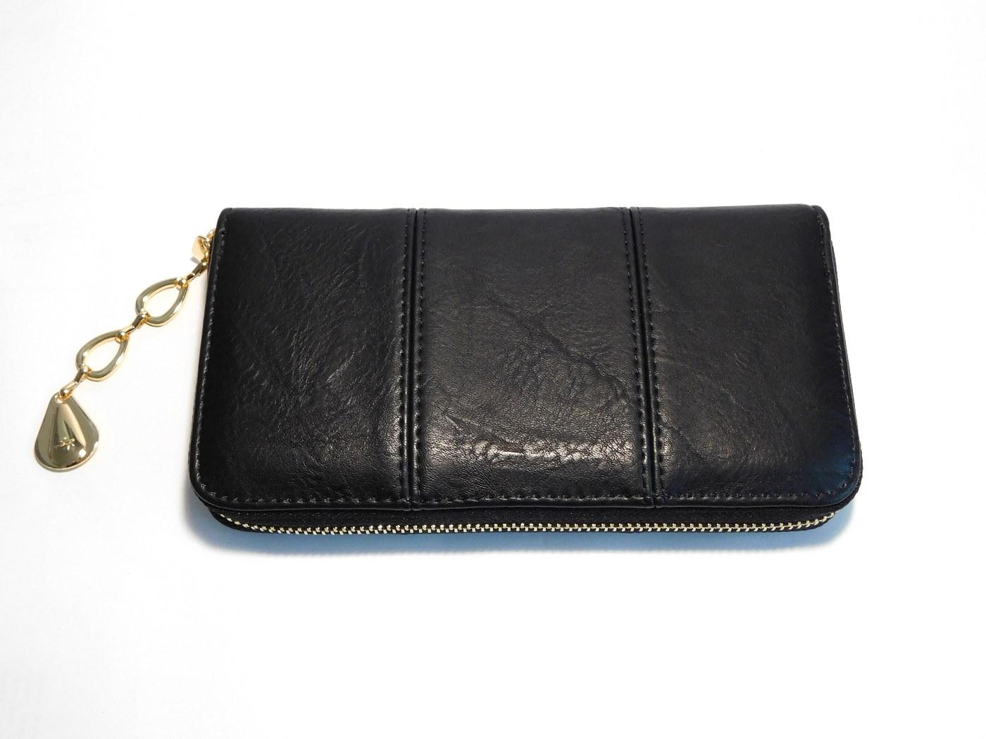 Černá dámská peněženka ROMINA&CO A170