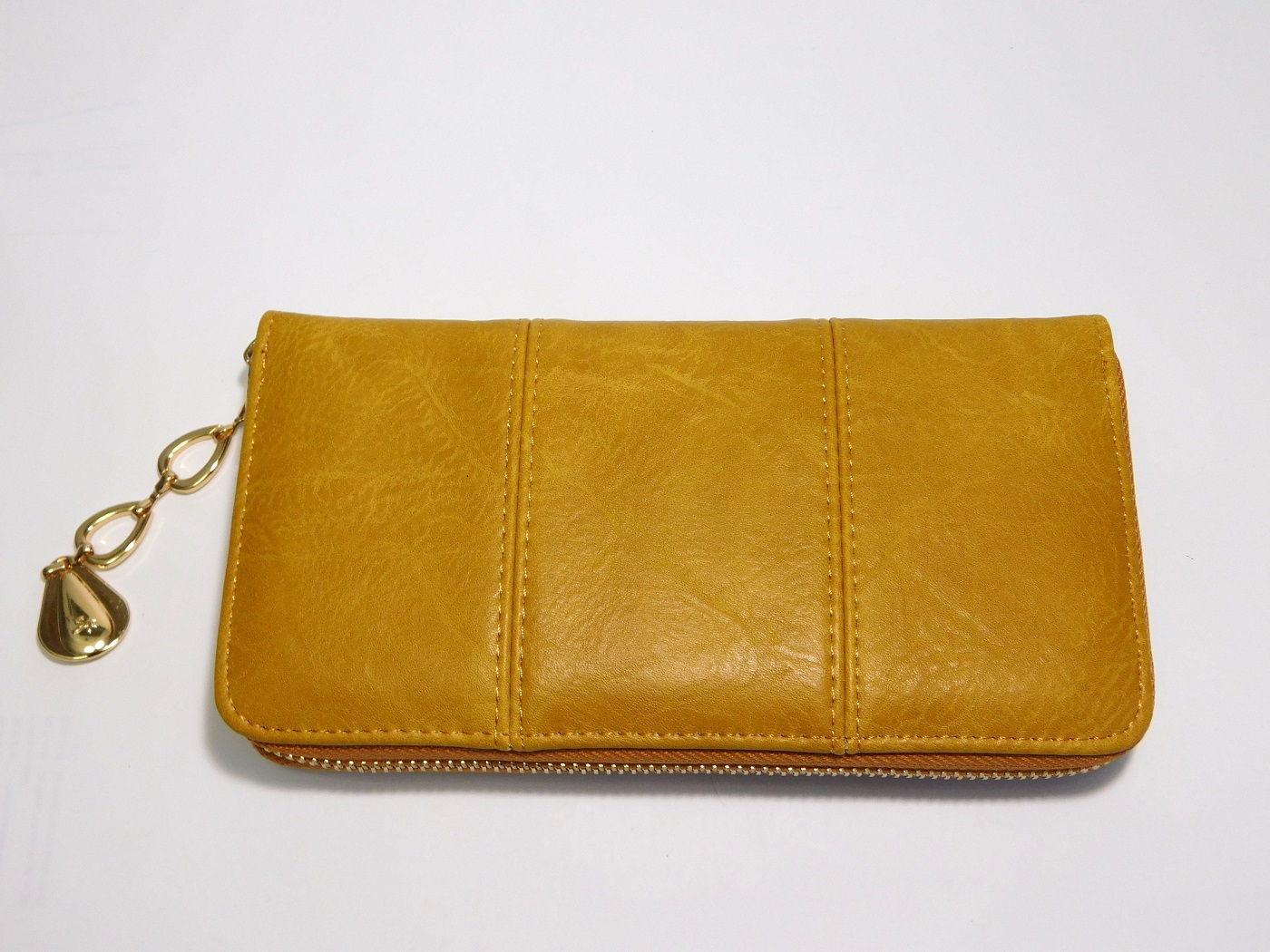 Žlutá (hořčicová) dámská peněženka ROMINA&CO A170