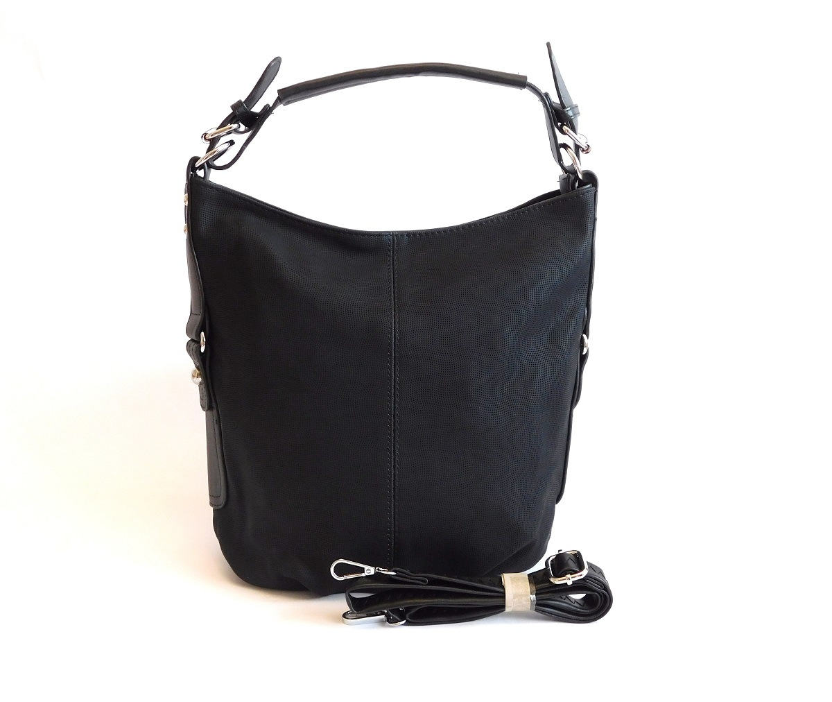Černá kabelka na rameno ROMINA & CO 16022