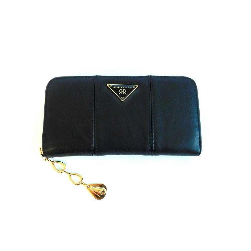 Černá dámská peněženka ROMINA&CO A172